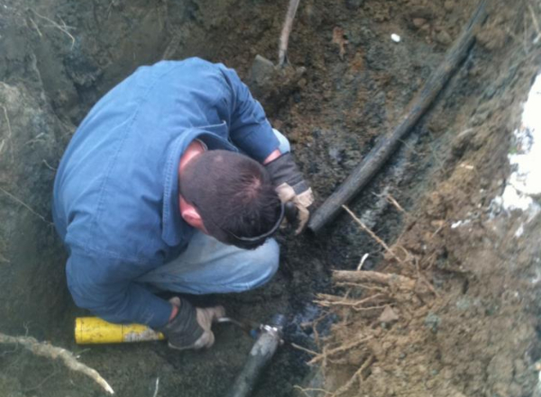 Septic Tank Inspection by Arkie Rogers Septic Service Maine